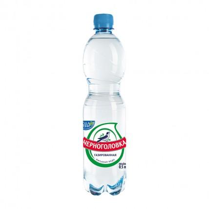 Вода Черноголовка 0,5 л, без газа